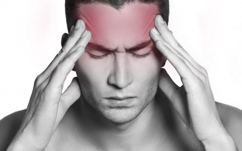 Zona de dolor típica en la cefalea tensional